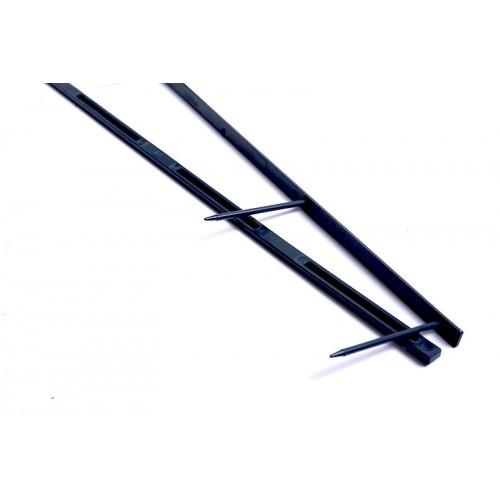 PETTINI VELOBIND A4 45mm  BLUE 4 DENTI pz.25 (2-200fg)
