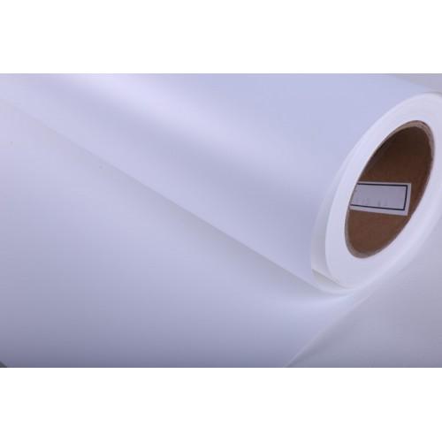 DISPLAY PER ROLL UP PET WHITE/WHITE MATT 0.914x50mt 220myc Ø76