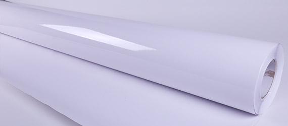 PVC Monomerico Trasparente Glossy - Monomerico colla Trasparente -- vinile adesiso - vinile monomerico - Supporti stampa ecosolvente - mondocarta