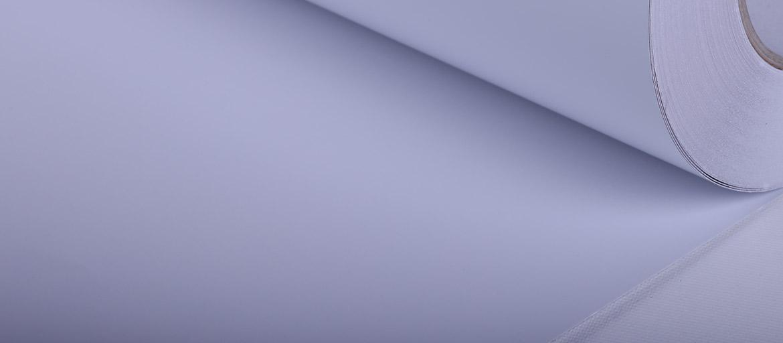 PVC Polimerico Bianco Glossy - vinile adesivo - vinile polimerico - supporti stampa ecosolvente - mondocarta