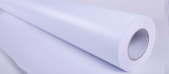 PVC Monomerico Bianco Matt - vinili adesivi monomerici - stupporti per la stampa ecosolvente - vinile monomerico colla trasparente - mondocarta