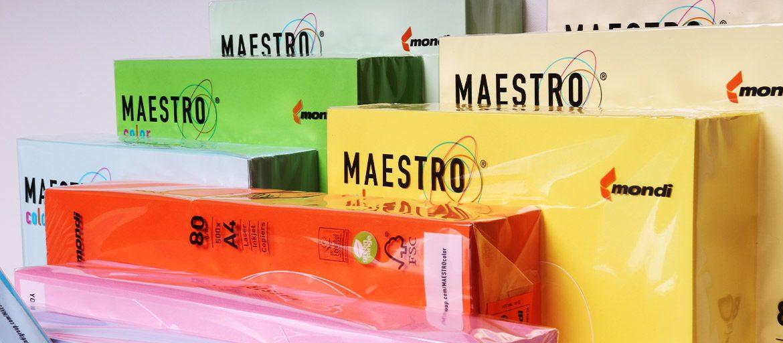 Carte Colorate - Maestro