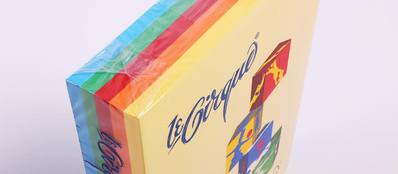 Le Cirque - Carte usomano colorate - carte colorate - mondocarta