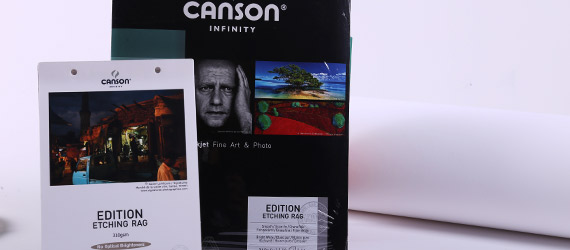 Canson Infinity Edition Etching Rag Opaca - supporti stampa a pigmento - carte fotografiche inkjet - carte fotografiche Canson - Edition Etching RAG - mondocarta