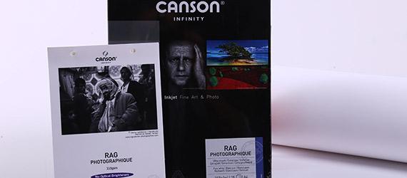 Canson Infinity Rag Photographique Opaca - supporti stampa a pigmento - carte fotografiche Canson - Canson Infinity - RAG Photographique - mondocarta