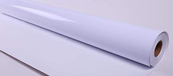 Vinile Monomerico Bianco Glossy / Colla Trasparente - supporti stampa pigmento - vinili adesivi - vinili monomerici - vinili colla trasparente - supporti per la stampa - mondocarta