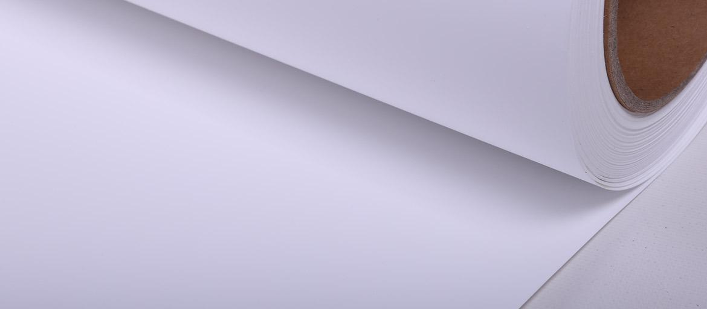 Roll-Up Polipropilene Bianco Matt. / Retro Bianco