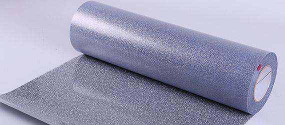 Termoadesivo Poli-Flex Image Glitter Pearl Silver