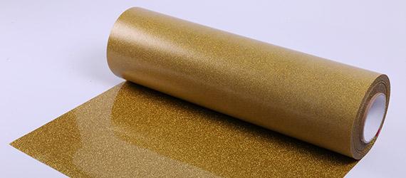 Termoadesivo Poli-Flex Image Glitter Pearl Gold