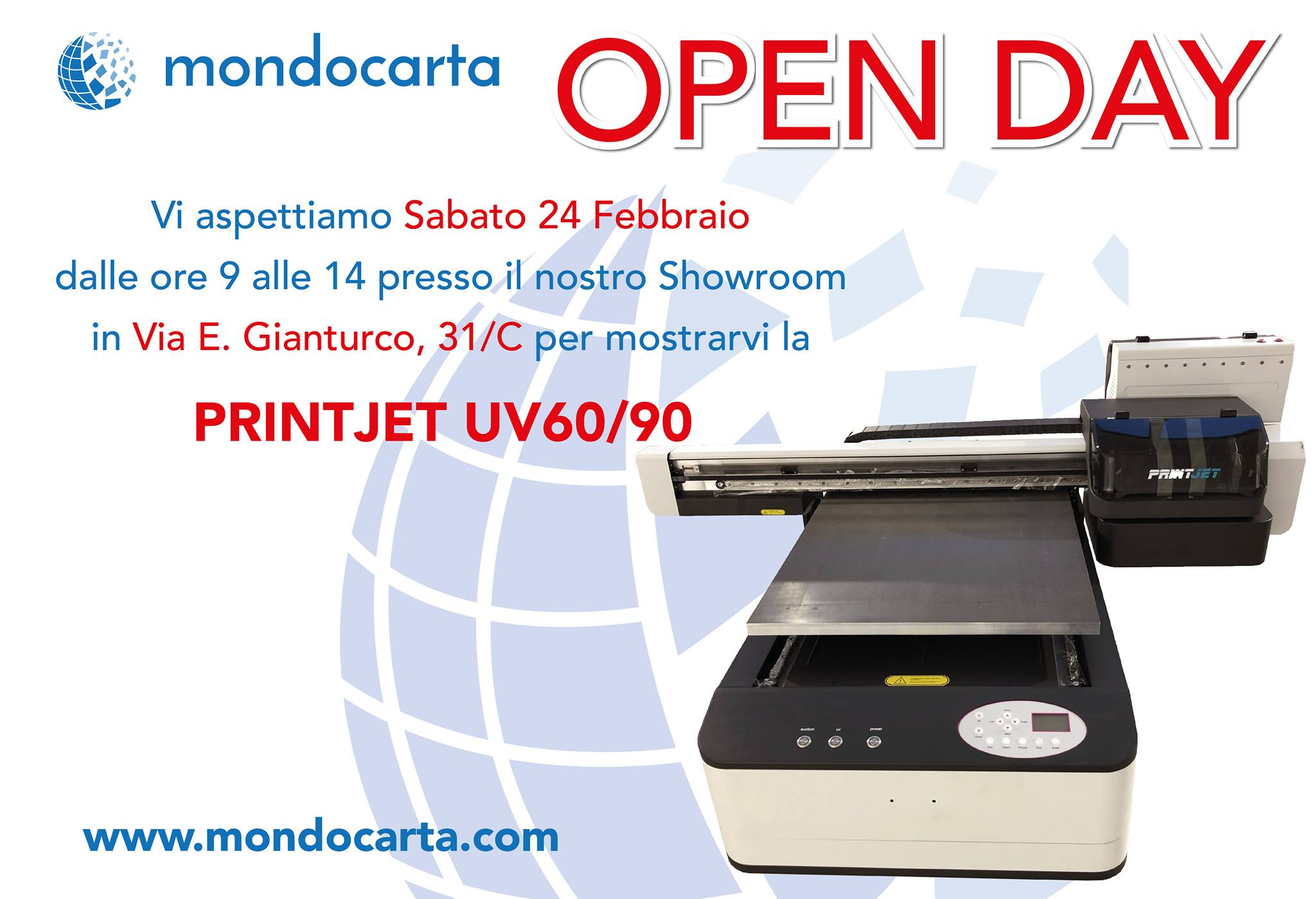 open day mondocarta - Print Jet UV 60/90